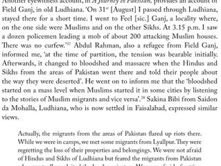 Sheikhupura and Ludhiana