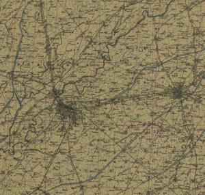 Lahore Amritsar 1943 pre partition Punjab map