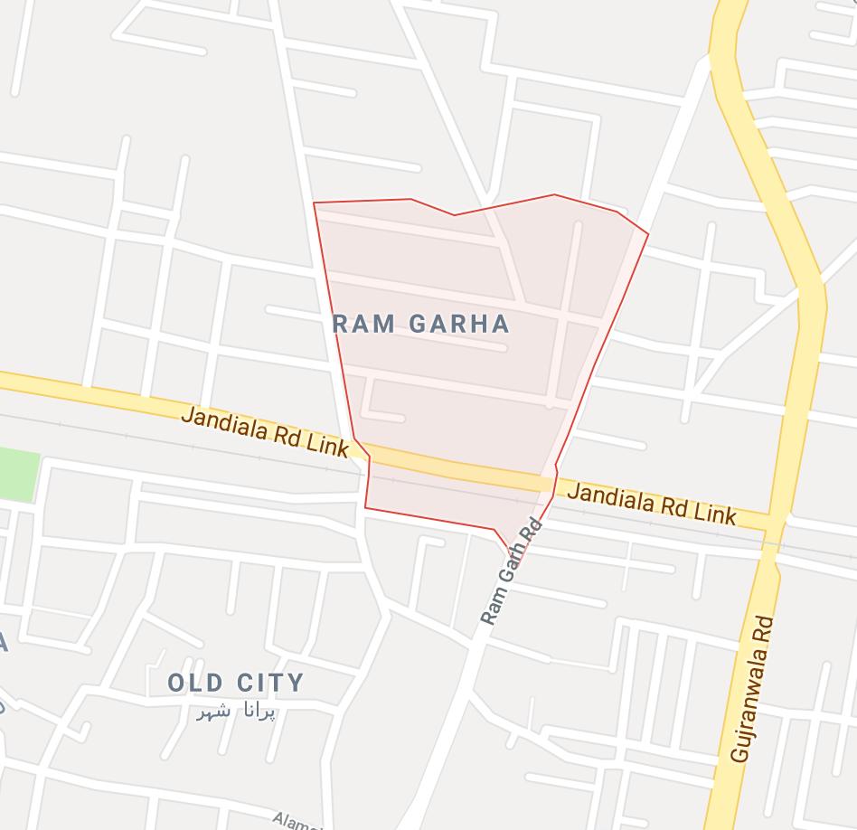 Ram garha Sheikhupura