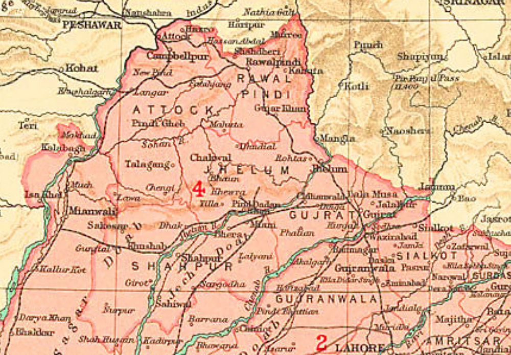 Jhelum District, part of Rawalpindi Division.