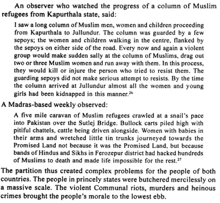Violence in Kapurthala, Partition 1947