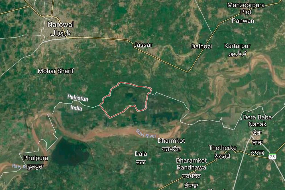 Thetherke and Narowal area