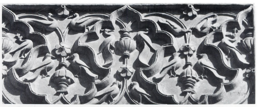 Stylized motifs at Nurmahal