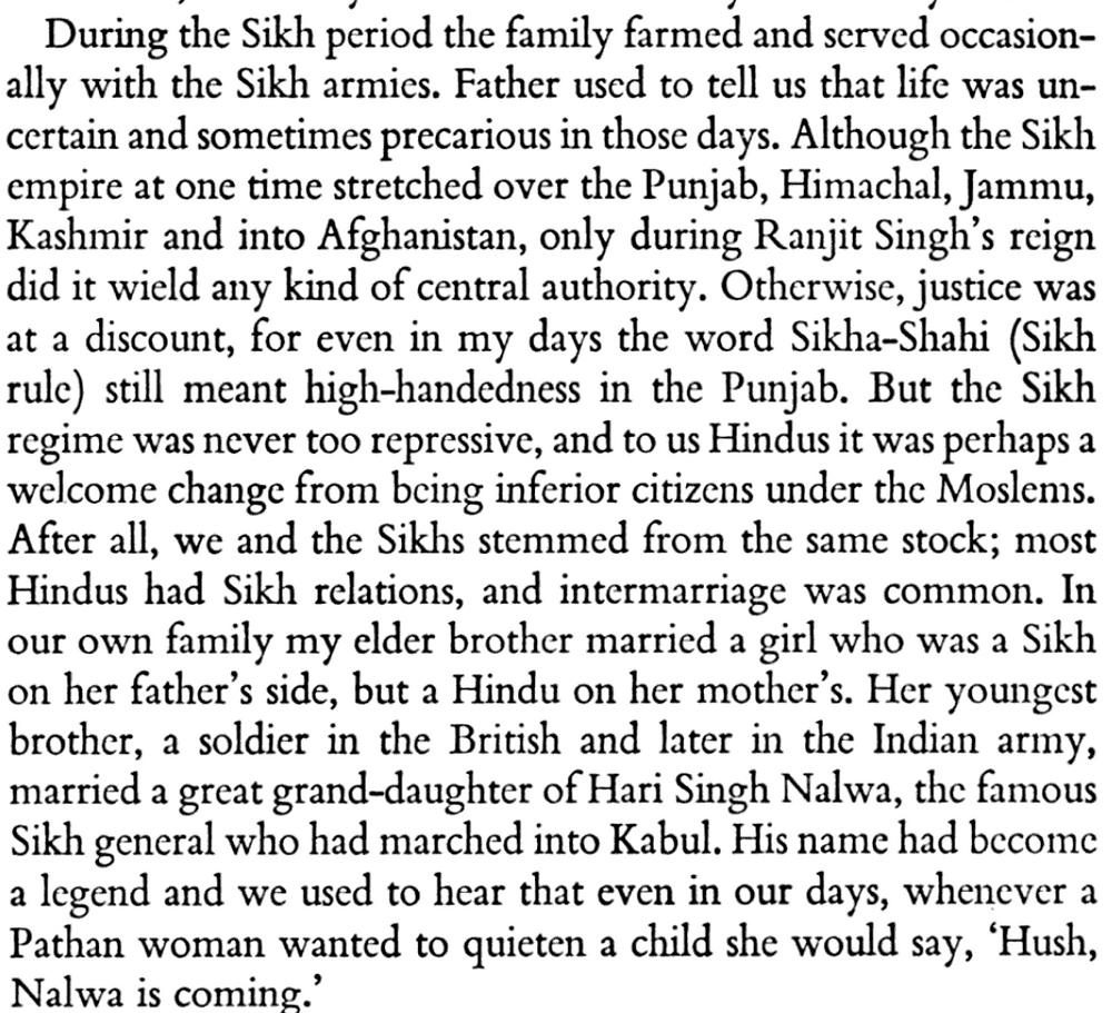 Excerpt from Punjabi Century (Prakash Lal Tandon)