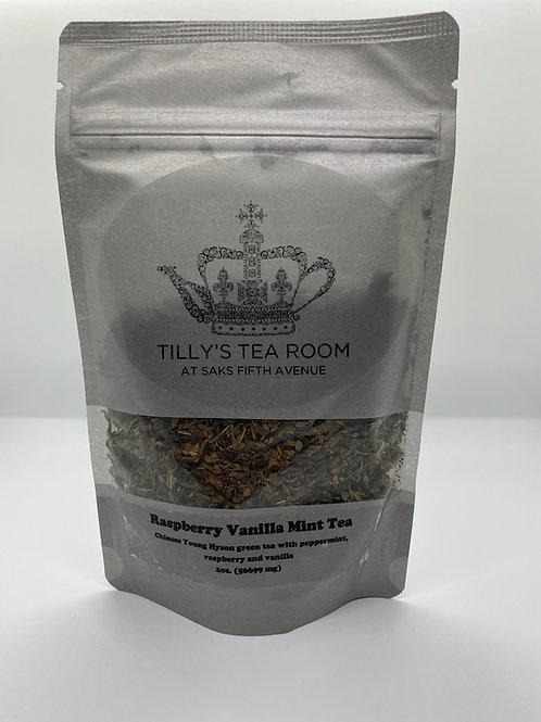 Raspberry Vanilla Mint - loose leaf tea