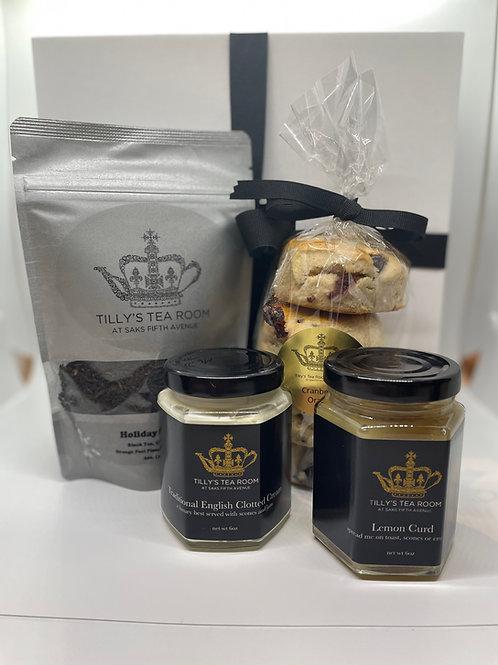 Gift Box - Scones, Tea, Cream, Lemon Curd