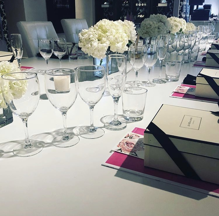 Jo Malone table setting
