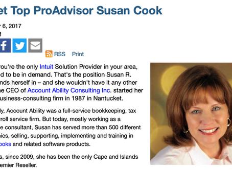 Meet Top ProAdvisor Susan Cook