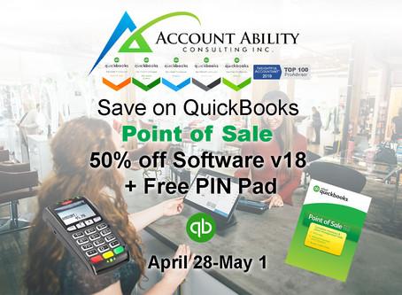 Flash Sale on QuickBooks Point of Sale 4/28-5/1