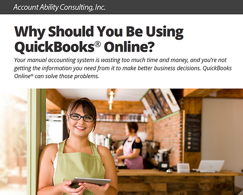Free Ebook: Why Should You Be Using QuickBooks® Online?