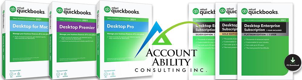 QuickBooks 2021 Logos