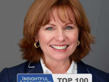 Susan R. Cook receives Insightful Accountant's 2020 TOP 100 ProAdvisor Award