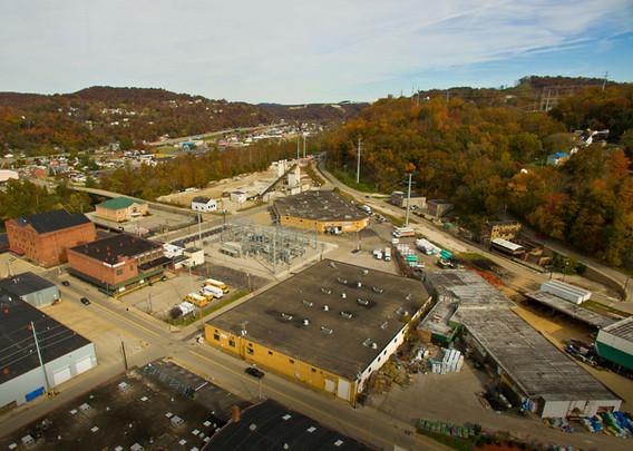 Inland Building - Aerial