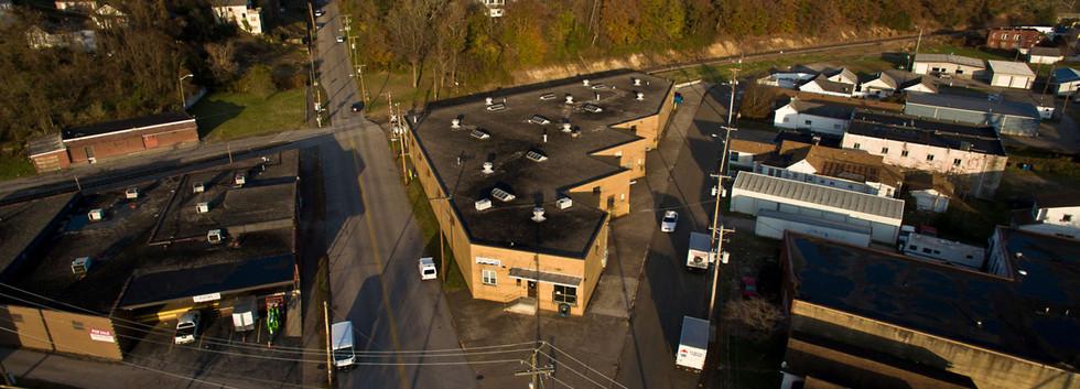 Eureka Building - Aerial