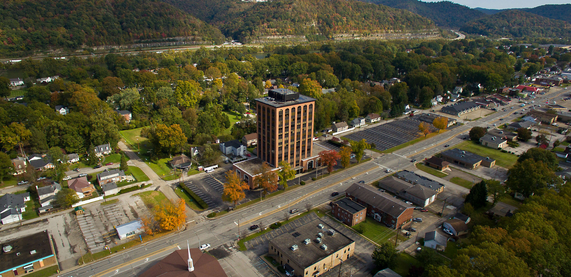 City Center East - Aerial View