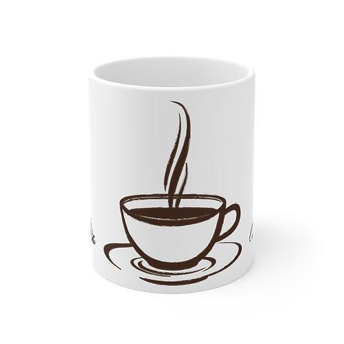 Bom Dia, Coffee Mug Gift, Good Morning Coffee Mug in Portuguese
