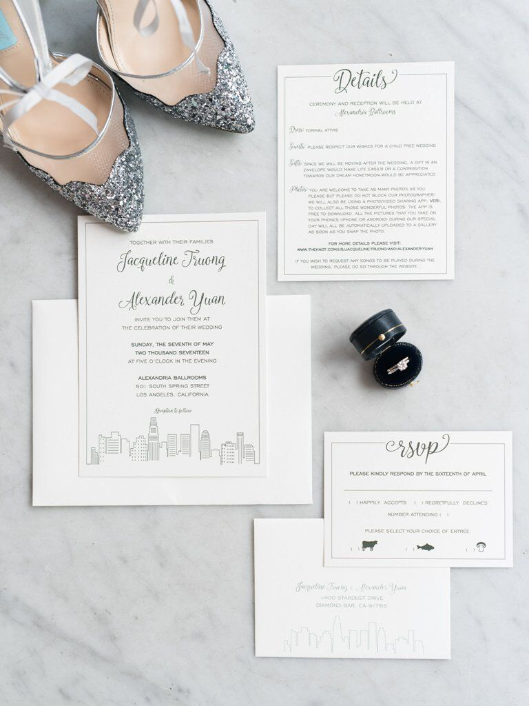 Digital Wedding Invitation Set