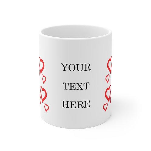 Customizable Valentines Day Mug. Valentines Day Gift