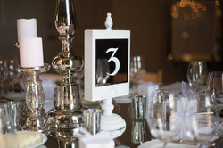 Handwritten Table Numbers