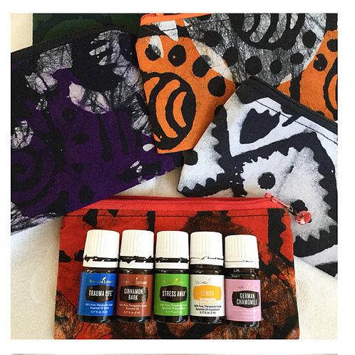 Batik Essential Oil Case