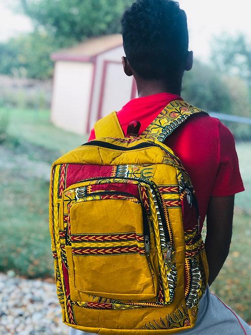 Mustard Yellow Angelina Backpack