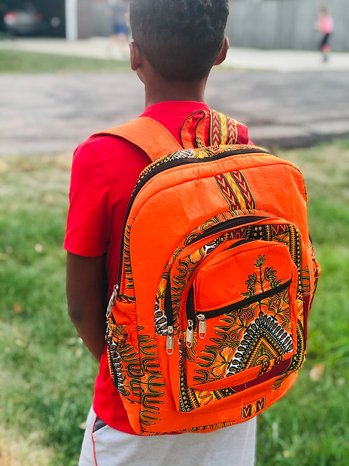 Orange Angelina Backpack