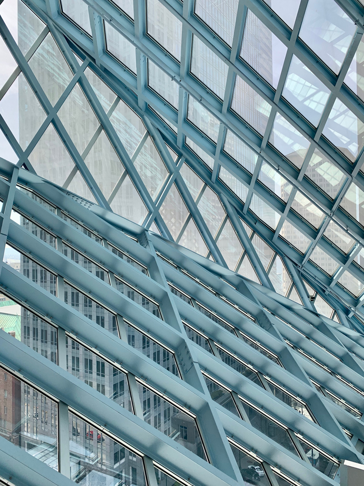 Seattle Public Library architecture