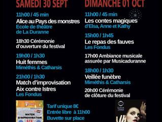 Festival de la duranne, 3ième édition !