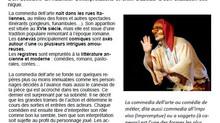 "Stage de ""Commedia dell' Arte"" Par les Tiramisu"