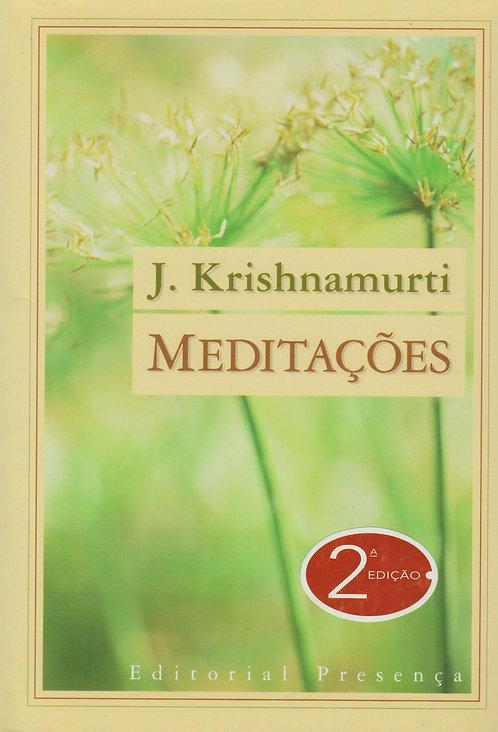 Meditações de J. Krishnamurti