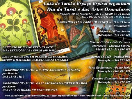 Dia do Tarot e das Artes Oraculares