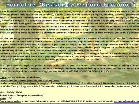RESGATE DA ESSÊNCIA FEMININA - INVOCANDO A DEUSA ISTHAR - 20 Setembro 2015