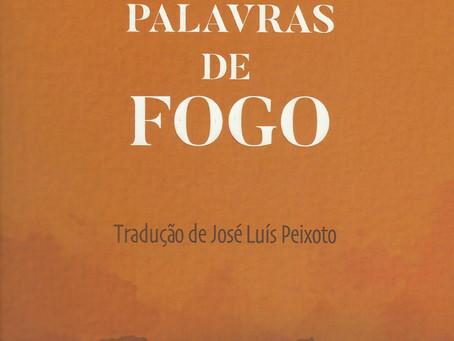Palavras de Fogo de Jidi Majia; Tradução: José Luís Peixoto