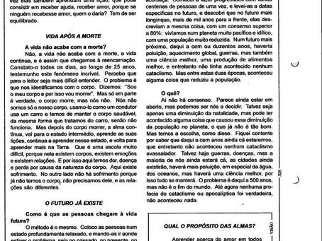 Ficha Espiral nº.189 de Fevereiro 2006 Parapsicologia - Brian Weiss