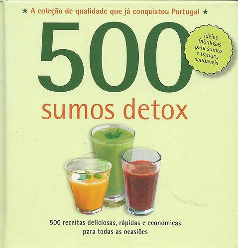 500 Receitas: Sumos Detox de Carol Beckerman