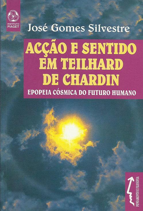 Acção e Sentido em Teilhard de Chardin Epopeia Cósmica do Futuro Humano