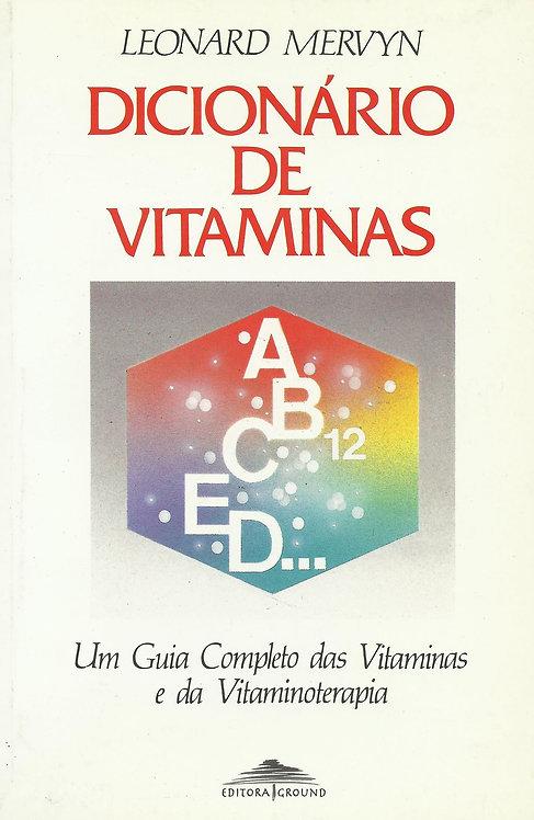 Dicionário de Vitaminas de Leonard Mervyn