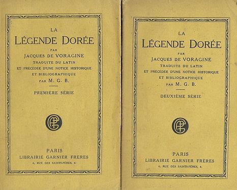 La Légende Dorée (2 volumes) de Jacques de Voragine
