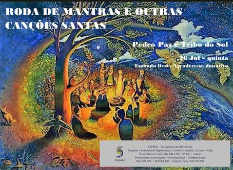 Noite de mantras e outras canções santas por Pedro Paz
