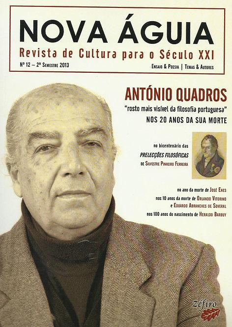 Nova Águia N.º 12 - António Quadros
