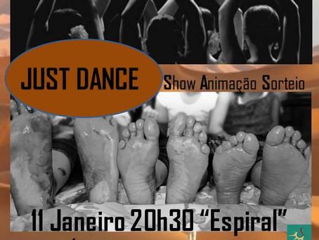 Just Dance - noite árabe, Belly Dance - Exibição, animação e sorteio
