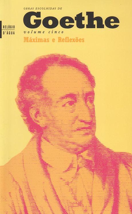 Máximas e Reflexões de Goethe