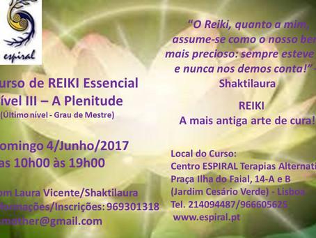 Reiki Essencial nível 3 por Laura Vicente