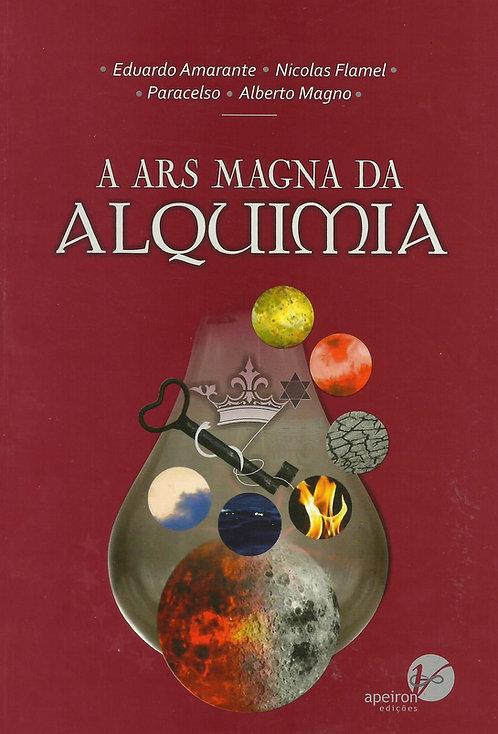 A Ars Magna da Alquimia de Eduardo Amarante, Alberto Magno, Nicolas Flamel e Par