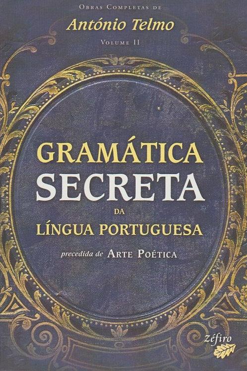 Gramática Secreta da Língua Portuguesa de António Telmo