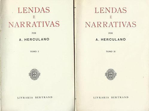 Lendas e Narrativas (2 volumes) de Alexandre Herculano