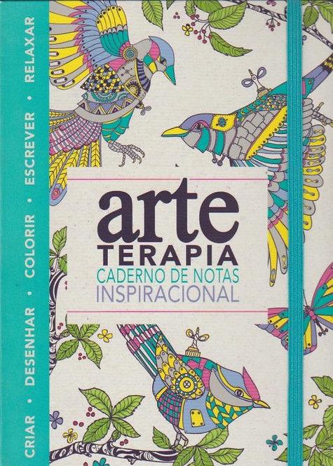 Arte-terapia: Caderno de Notas Inspiracional