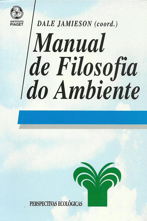 Manual de Filosofia do Ambiente de Dale Jamieson