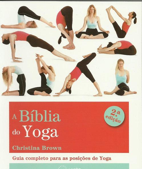 A Bíblia do Yoga  de Christina Brown