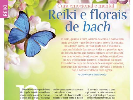 Reiki e florais de Bach - cura emocional e mental por Shaktilaura